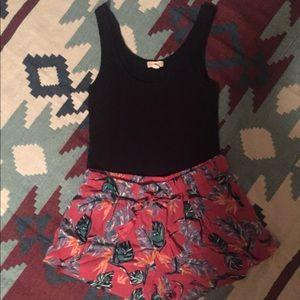 Roxy floral print shorts